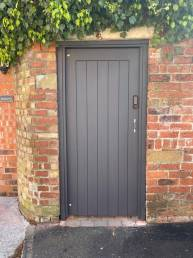 The Leyland Gate with combination lock